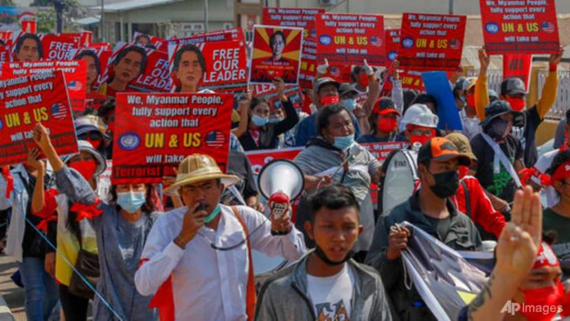 Myanmar urged to avoid violence after junta opponents declare revolt