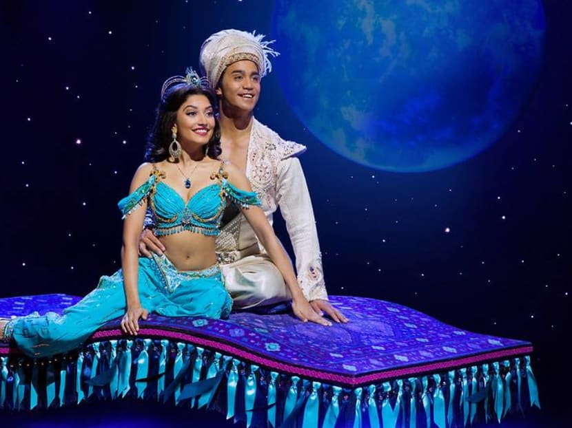 Aladdin The Musical and its magic carpet flying into Singapore in July 2019