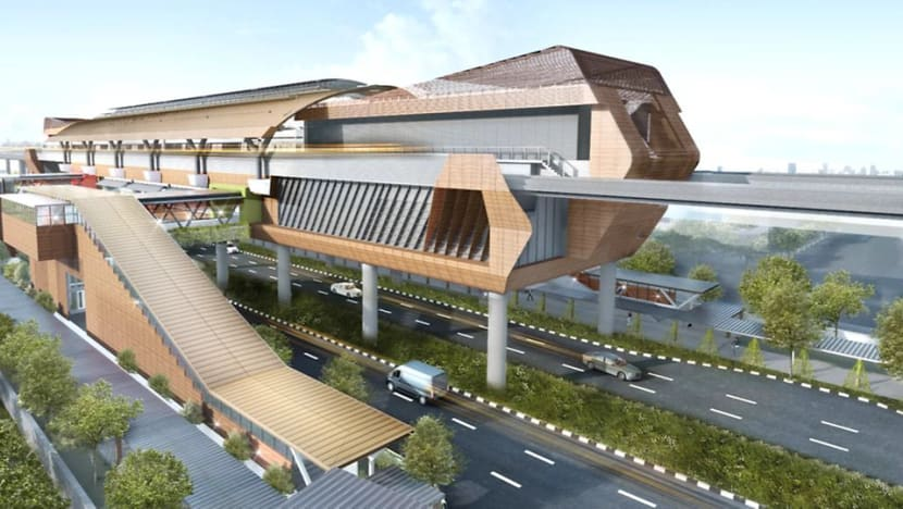 Construction on 2 Jurong Region Line MRT stations to start this month