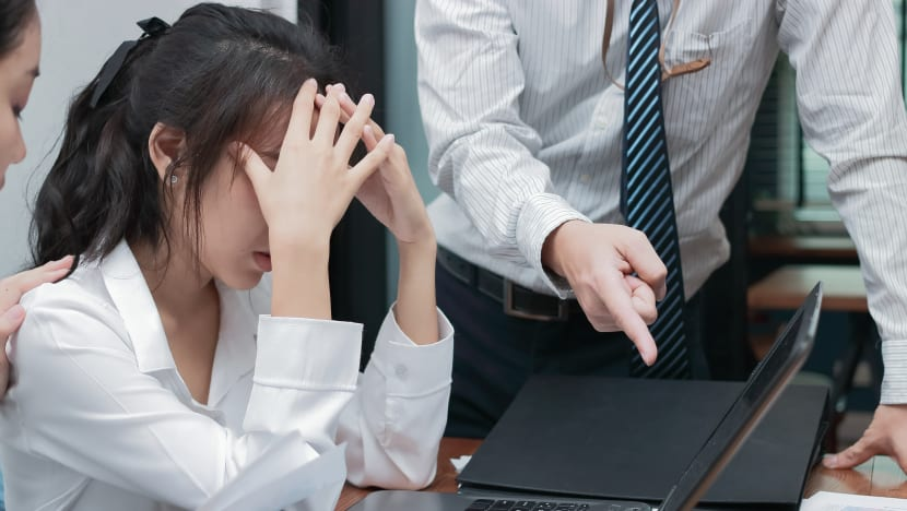 Commentary:  How can you deal with an aggressive, bullying boss? What if it's your colleague?
