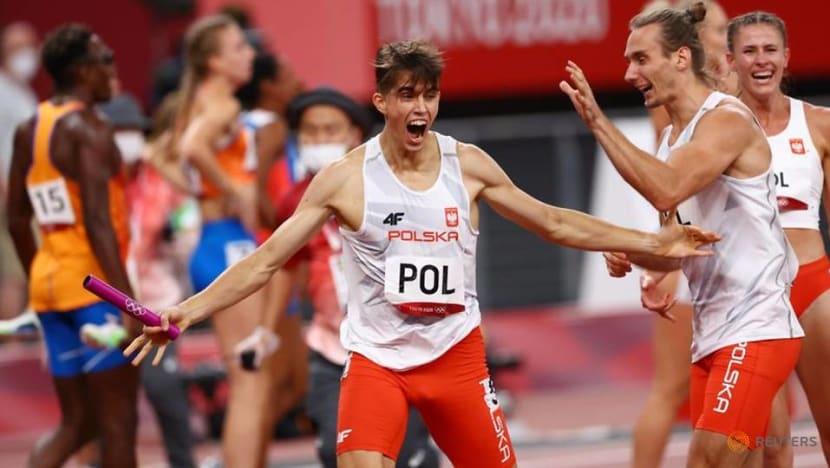 Athletics: Poland win first 4x400m mixed relay gold at Tokyo 2020