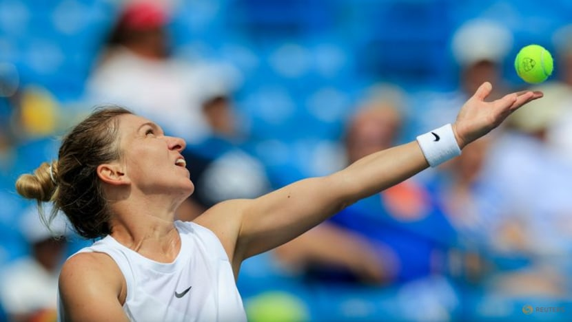 Tennis-Vaccinated Halep says no longer afraid of COVID-19