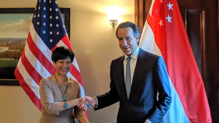 Singapore, US sign agreement to boost cooperation in finance, market building