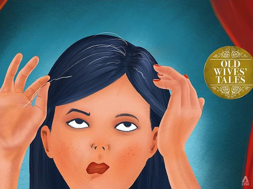 Myth busting: Pluck out a strand of grey hair and 10 more will grow in its place