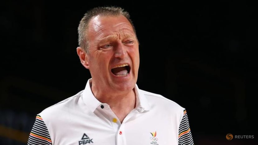 Olympics-Basketball-In Games debut, Belgian coach says daughters are 'just players'