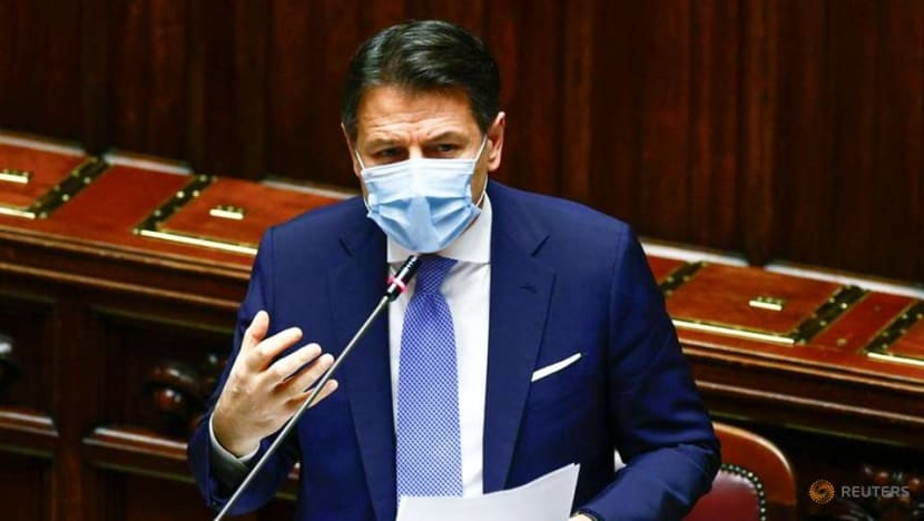 Italy PM wins key confidence vote, tougher test on Tuesday