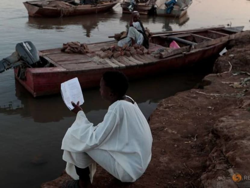 Wider Image: Fears at Nile's convergence in Sudan that new dam will sap river's strength