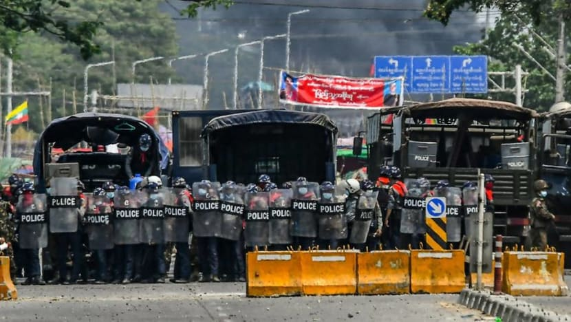 At least 18 killed in Myanmar's anti-coup protests; martial law imposed in Yangon district