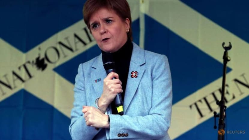 Scotland's Sturgeon hints at legal move if independence vote blocked