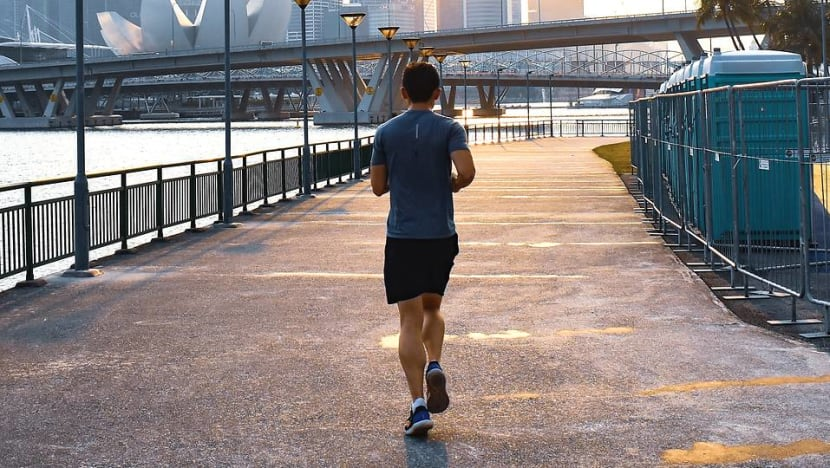 Commentary: You can enjoy jogging even by yourself