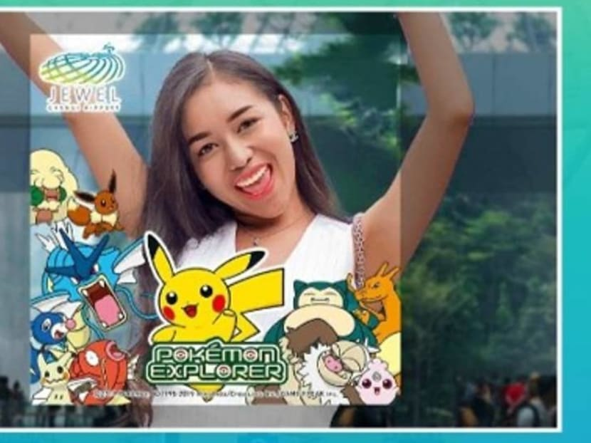 Jewel Changi Airport launches new Pokemon Explorer game on its mobile app