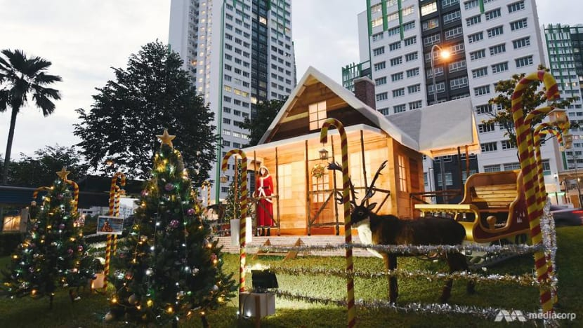 'Other places don't have this': Santa Claus of Marsiling returns with bigger, more elaborate display