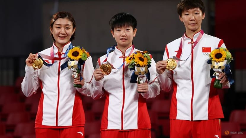 Table Tennis: China sweep Japan to win Olympic women's team gold, extend unbeaten record