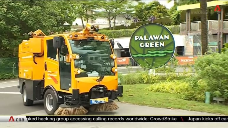 Public sector 5G trials under way at Sentosa with autonomous road-sweeping trucks, augmented reality experiences | Video