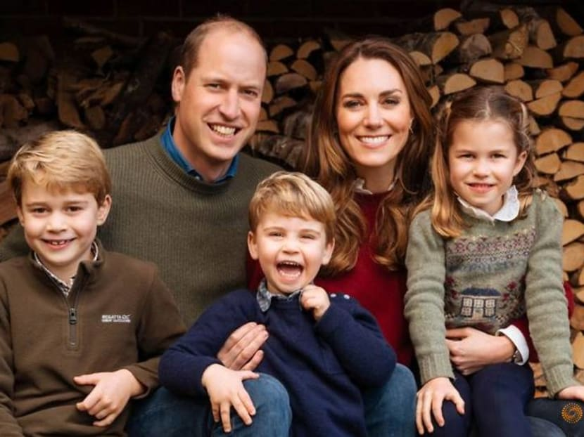 British royals select happy family snapshots for their Christmas cards