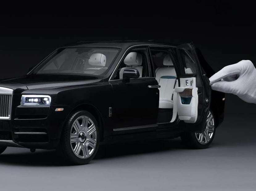 Rolls-Royce's handcrafted miniature Cullinan looks exactly like the real car