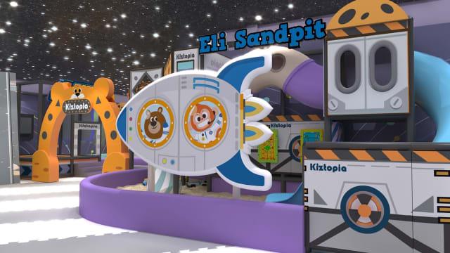 孩子玩翻天!Kiztopia打造2全新室内游乐场