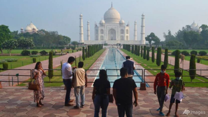 India's famed Taj Mahal reopens for tourists as COVID-19 curbs ease