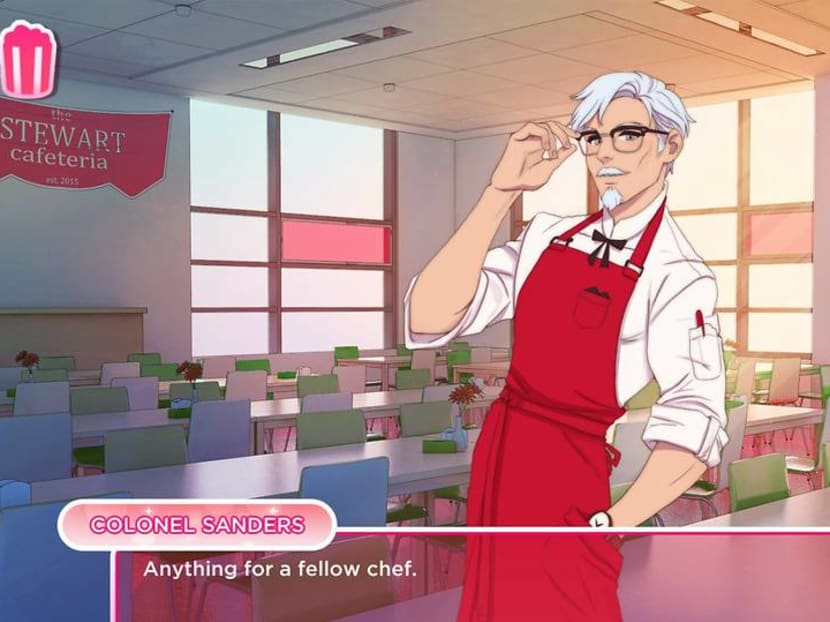 Fancy dating a young Colonel Sanders? You can in KFC's new simulation game
