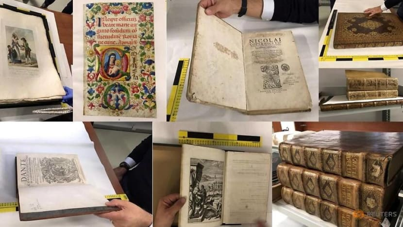 Rare books returned to owners after 'Mission: Impossible' burglary in UK