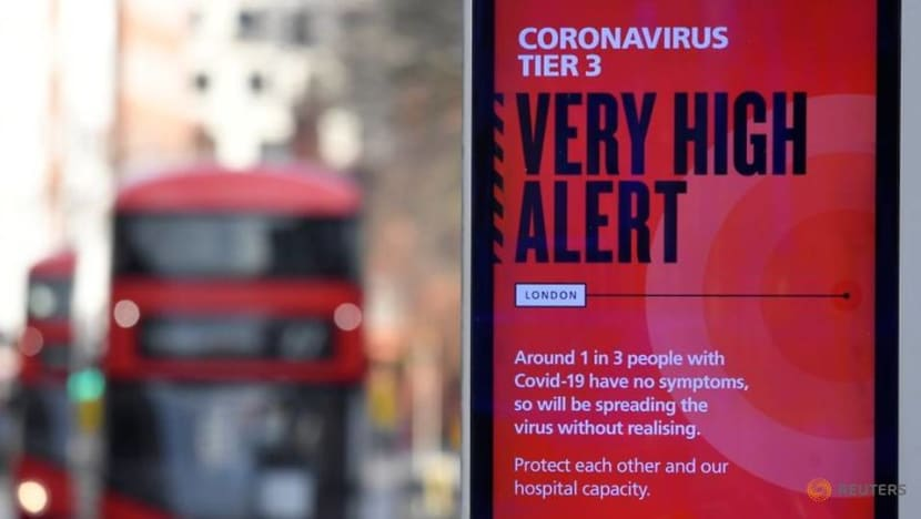 Britain says new COVID-19 strain 'out of control'