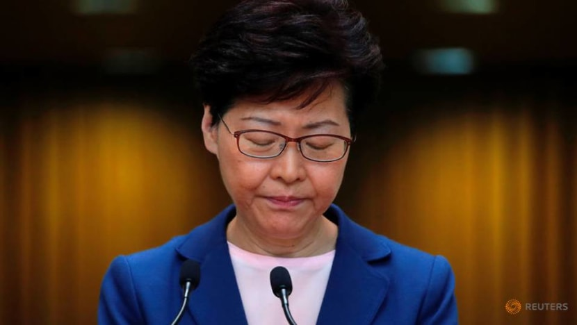 Violence will push Hong Kong down 'path of no return': Carrie Lam
