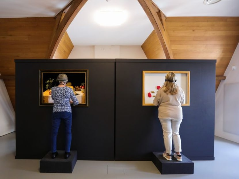 Dutch museum fills 'Blind Spot' with exhibit for visually impaired