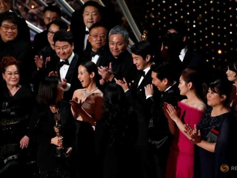 Oscars organizers say academy exceeds diversity goal as 'Parasite' cast, others join