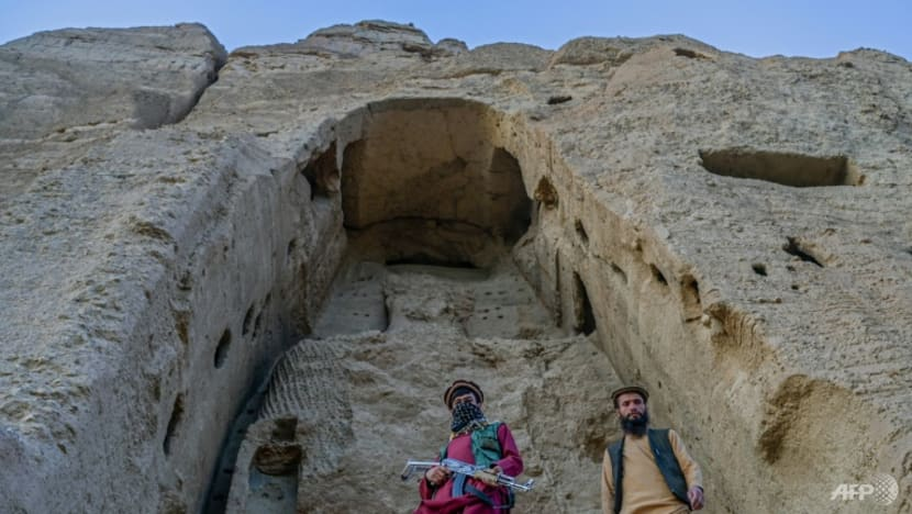 Taliban now guard site of Bamiyan Buddhas they destroyed