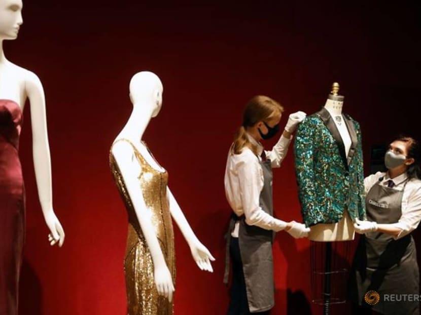 Mick Jagger jackets on sale in L'Wren Scott designs auction