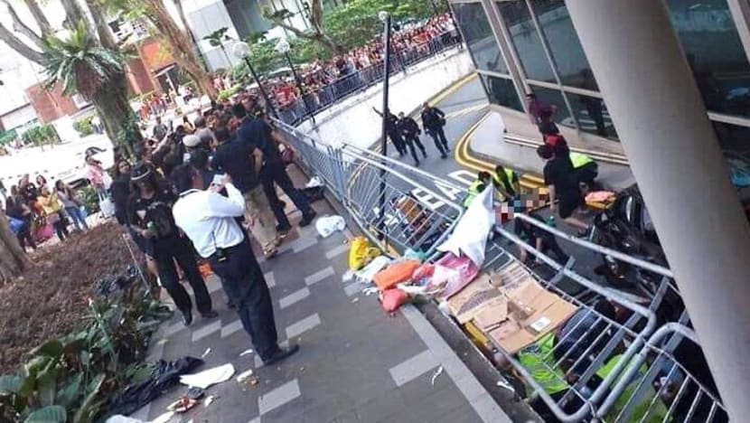 Lucky Plaza accident: Two victims in hospital now in 'stable' condition