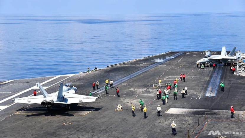 In pictures: On board the USS Ronald Reagan