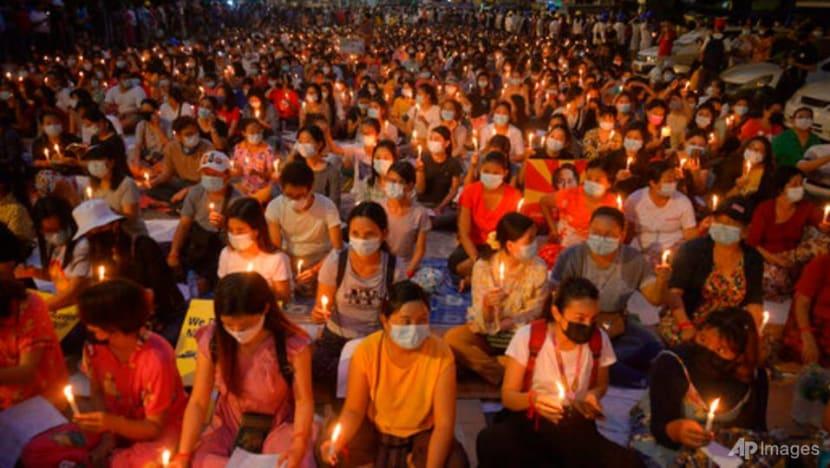 Myanmar civilian leader says people should defend themselves