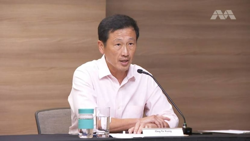 300 unvaccinated COVID-19 cases in current outbreak vs 78 vaccinated: Ong Ye Kung