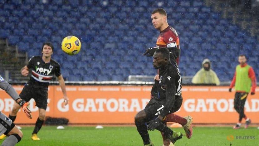 Football: Dzeko gets late winner for Roma, Zielinski inspires Napoli to victory