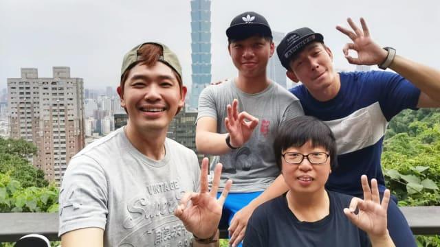 黄俊雄、陈罗密欧台湾拍剧杀青!林湘萍带美食探班