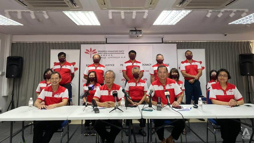 PSP is 'not my party alone', it is for 'Singaporeans who care for Singapore': Tan Cheng Bock