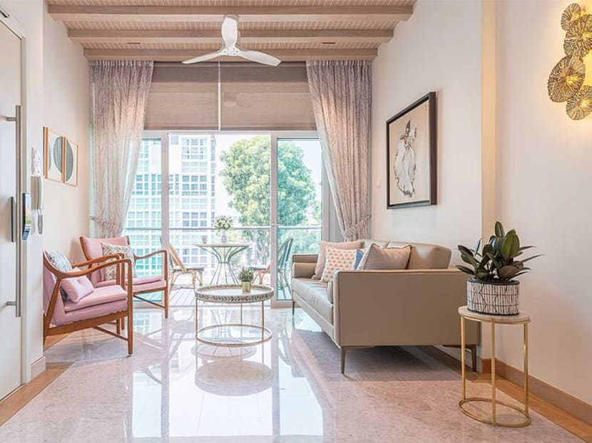 An 850 sq ft condo in Joo Chiat goes for a 'Japandi' look with a Peranakan touch
