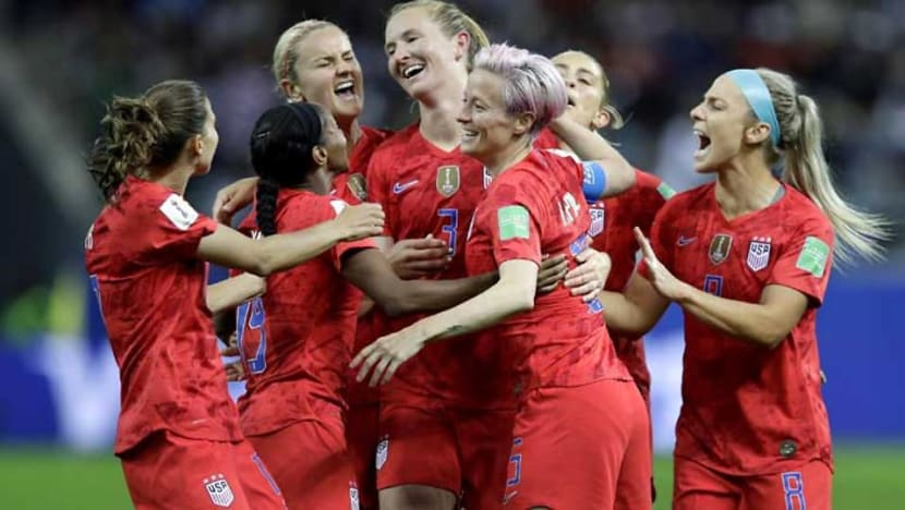 Football: USA open Women's World Cup defence with record 13-0 victory