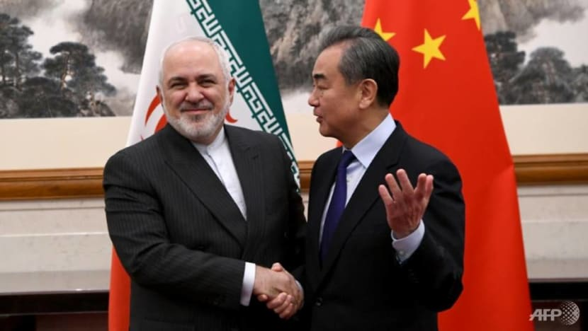 Commentary: China plays the Iran card against the US