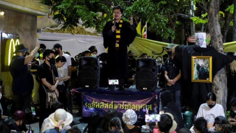 Thai PM asks student protesters 'not to create chaos'