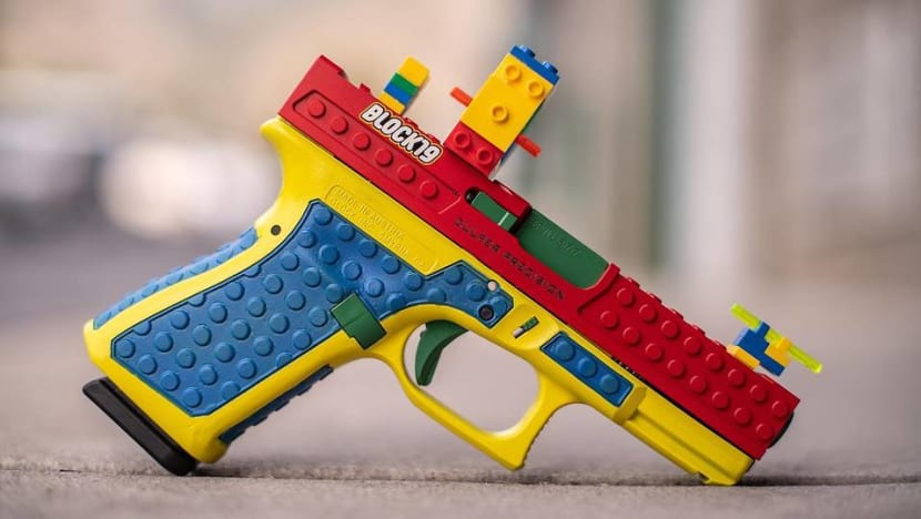 Real pistol that looks like Lego toy sparks controversy in US