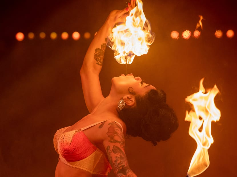 Fire-breathing, sword-swallowing fun: The circus cabaret comes to Marina Bay Sands
