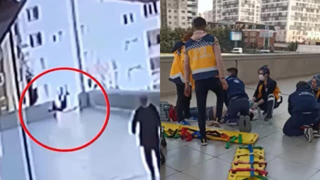 为抓住掉出窗口的手机 土耳其少年不幸坠楼身亡