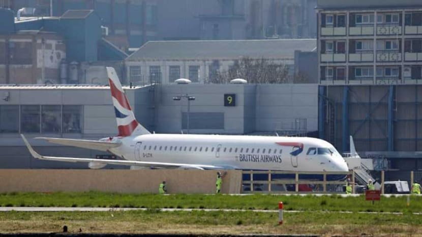 COVID-19: London City Airport reopens as UK slowly opens up