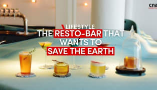 Cocktails and saving the earth at this Singapore resto-bar | CNA Lifestyle