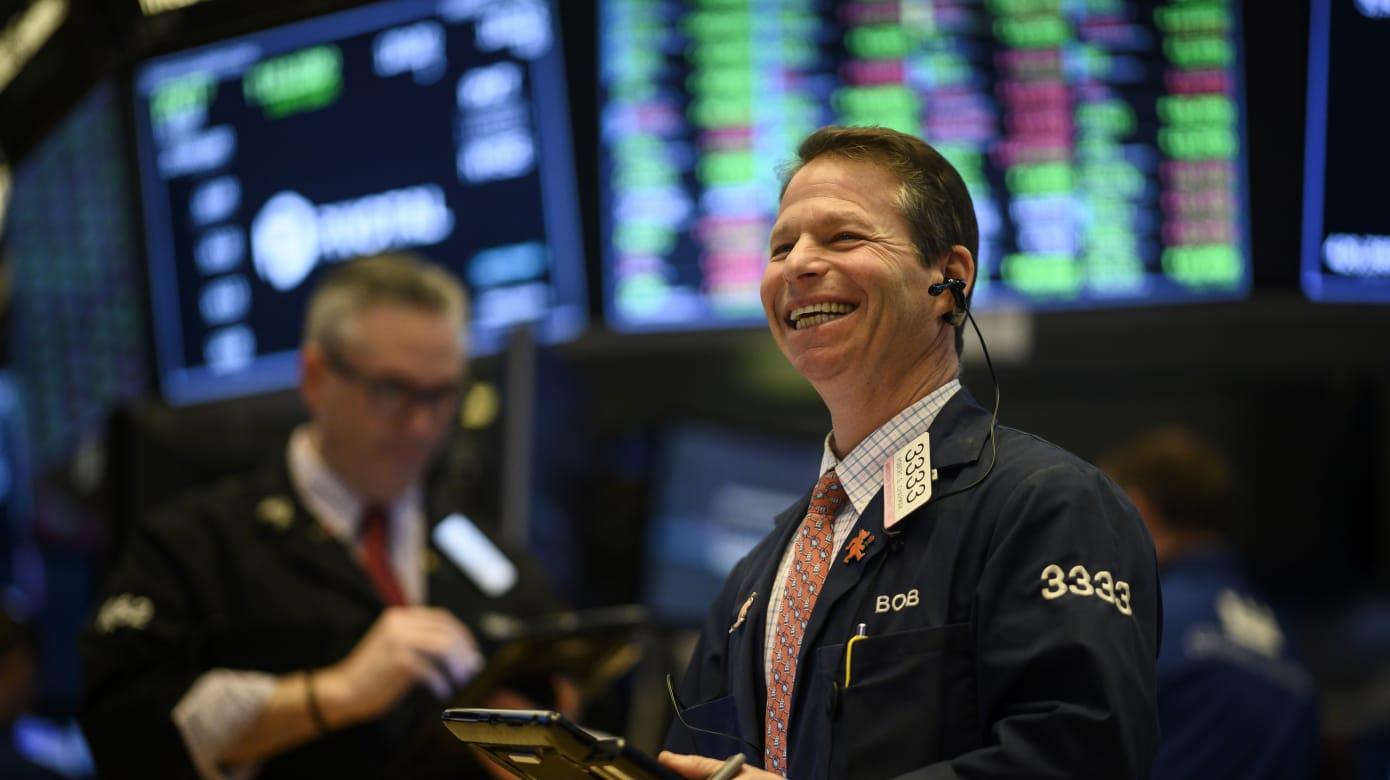 银行类股走势强劲 华尔街股市全面上扬