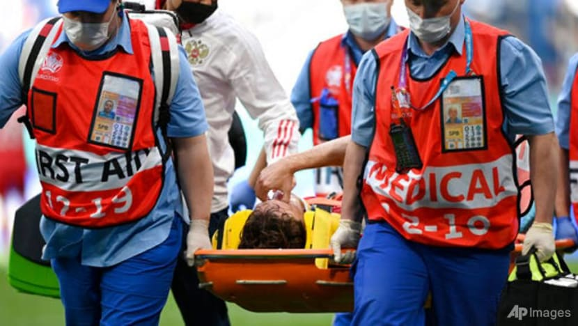Football: Russia's Fernandes cleared of spinal injury after fall in win over Finland