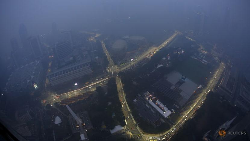 Formula 1: Hamilton eyes Singapore Grand Prix hat-trick through the haze