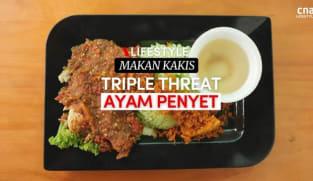 Makan Kakis: La Porpo's spicy ayam geprek is a smash hit | CNA Lifestyle